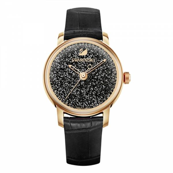 Swarovski Rose Crystalline Hours Watch