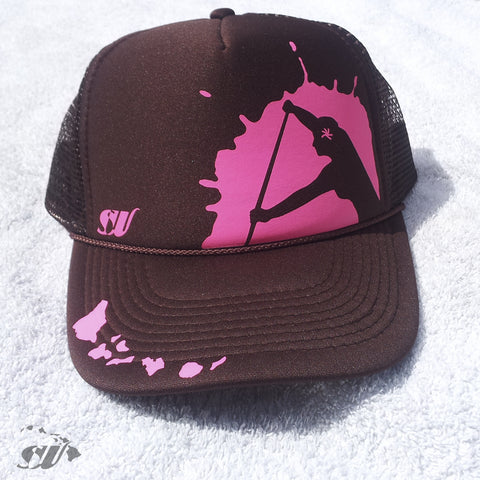 Wahine Paddler - Photo Trucker Hat