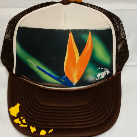 Bird of Paradise - Photo Trucker Hat