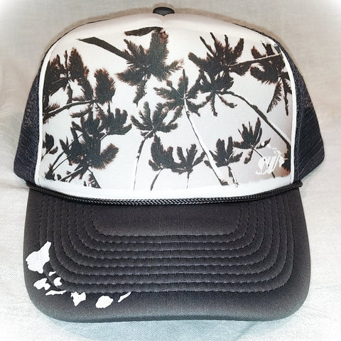 Kaimana Palms - Photo Trucker Hat