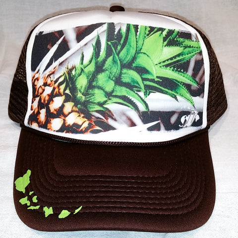 North Shore Pineapple - Photo Trucker Hat