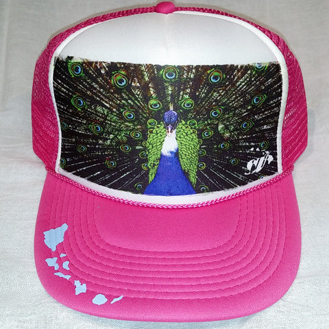Peacock Eyes - Photo Trucker Hat