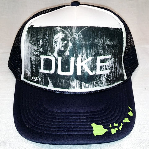 Duke - Black & White Photo Trucker Hat