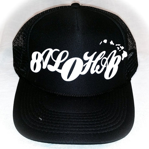 808 Aloha - Graphic Trucker Hat