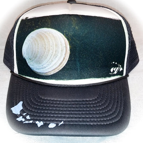Black Sand Shell - Photo Trucker Hat