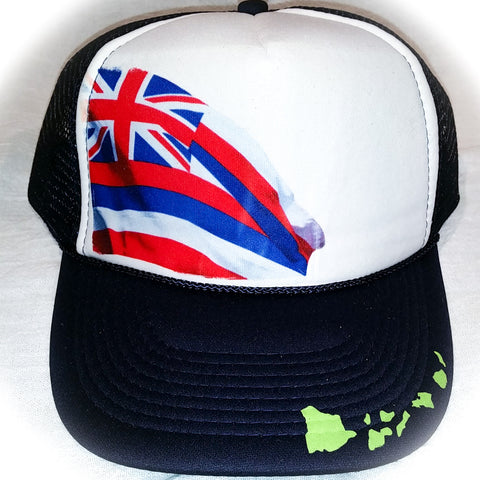 Hawaiian Flag - Photo Trucker Hat