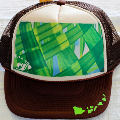 Areca Palms - Photo Trucker Hat