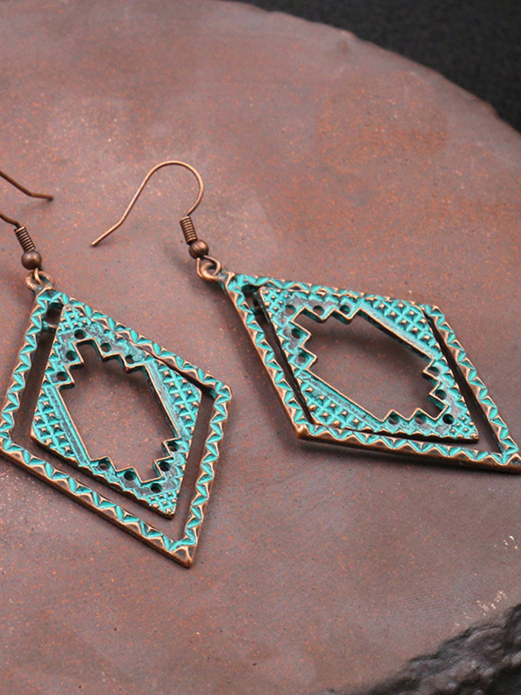 Vintage Casual Alloy Earrings