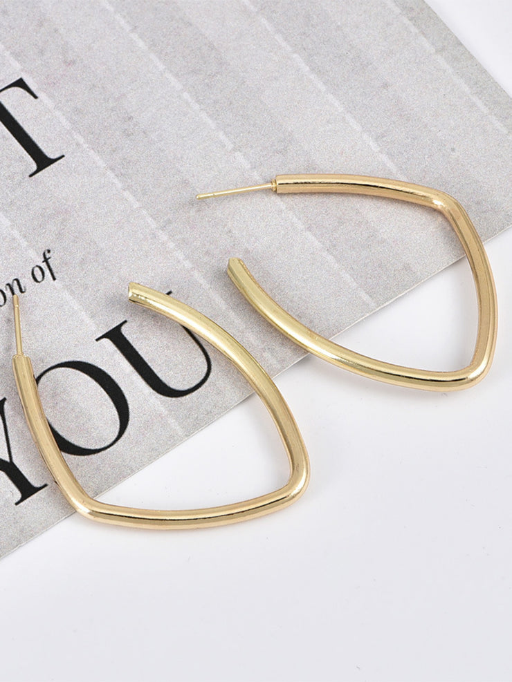 Women Alloy Earrings