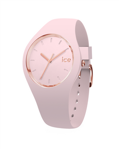 ICE GLAM PASTEL COLLECTION RG CASE 34MM (S) PINK DIAL PINK STRAP