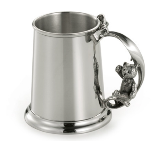 ROYAL SELANGOR  TEDDY BEARS' PICNIC SWING BABY MUG GIFT BOX