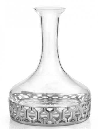ROYAL SELANGOR  HEXAGON DECANTER