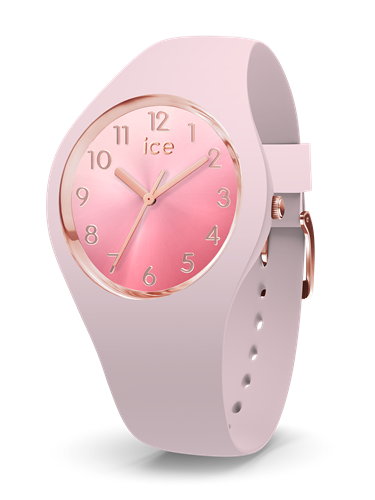 ICE SUNSET COLLECTION RG CASE 34MM (S) PINK DIAL PINK STRAP