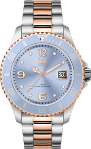 ICE STEEL - SKY SILVER ROSE-GOLD - MEDIUM - 3H
