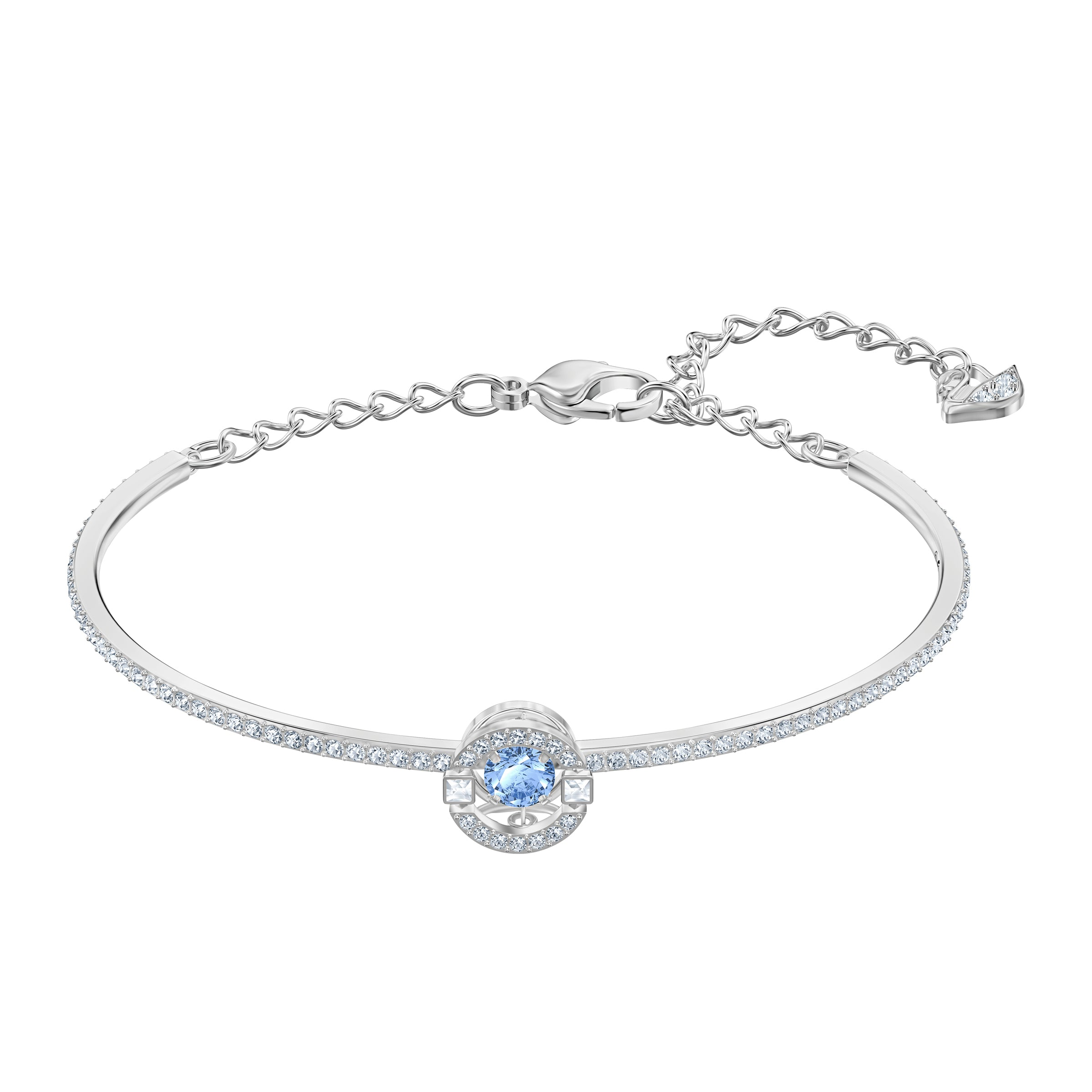 SPARKLING DC:BANGLE RND CZFU/CRY/RHS M