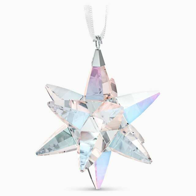 CLASSIC: ORNAMENT STAR SHIMMER MEDIUM