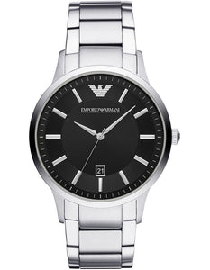 EMPIRO ARMANI BLACK DIIAL GENTS WATCH