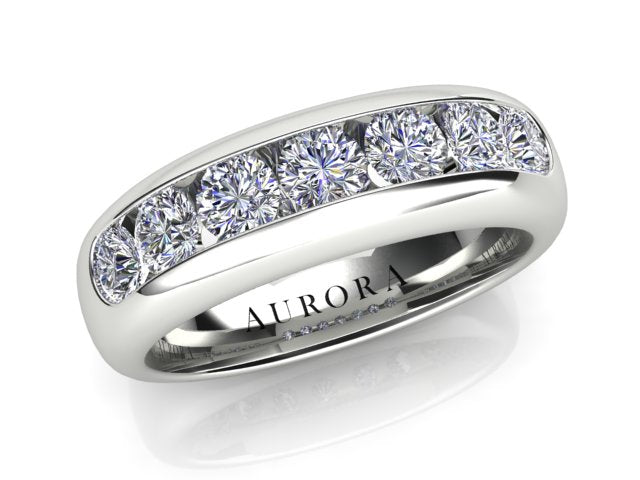 AURORA 18CT GOLD TDW - 1.00CT G SI DIAMOND RING
