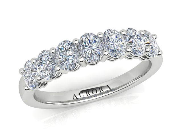 AURORA 18CT GOLD TDW-1.00CT DIAMOND RING