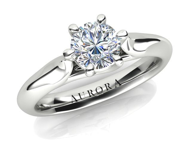AURORA 18CT GOLD AND PLATINUM G SI1 TDW- 0.50CT DIAMOND RING