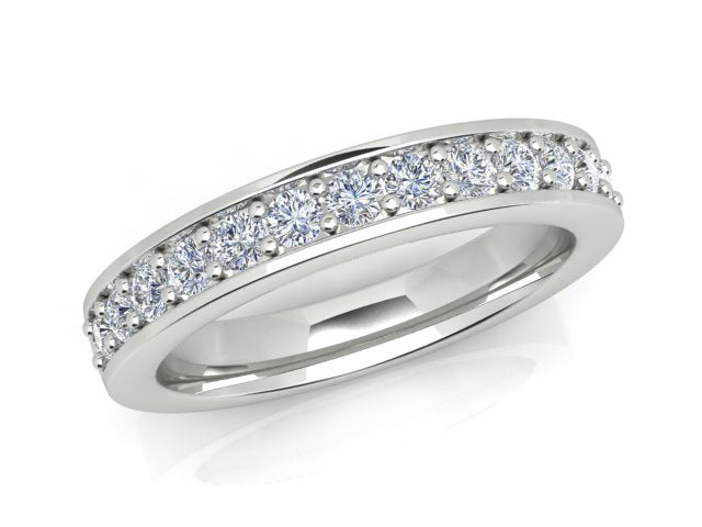 AURORA 18CT GOLD G SI2 TDW- 0.31CT DIAMOND RING