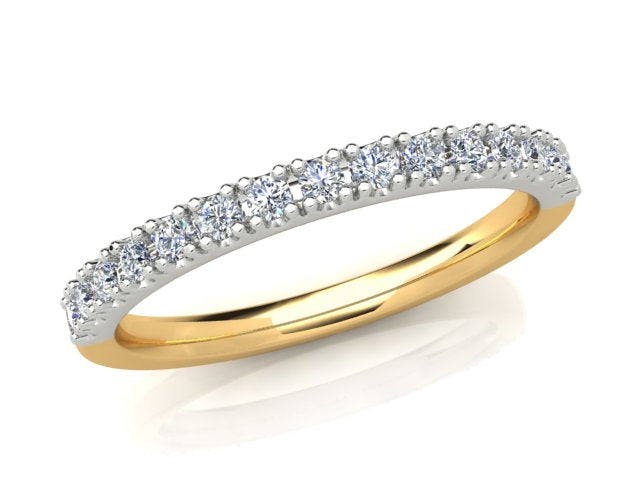 AURORA 18CT GOLD G SI TDW- 0.165CT DIAMOND RING