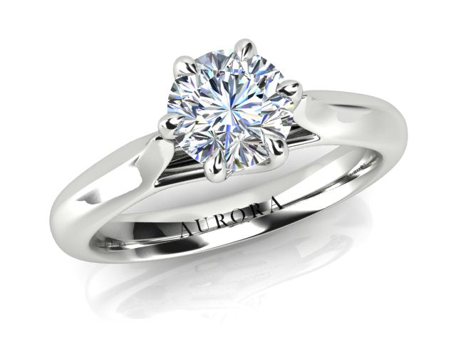 AURORA 18CT G SI1 TDW- 0.70CT SOLITAIRE DIAMOND RING