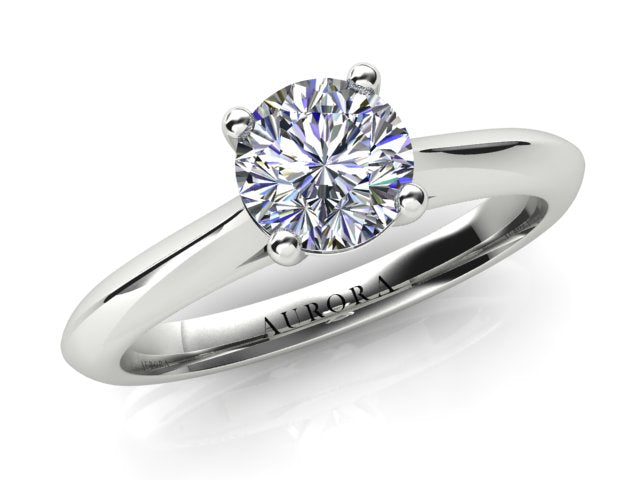 AURORA 18CT GOLD AND PLATINUM G SI1 TDW- 0.70CT DIAMOND RING