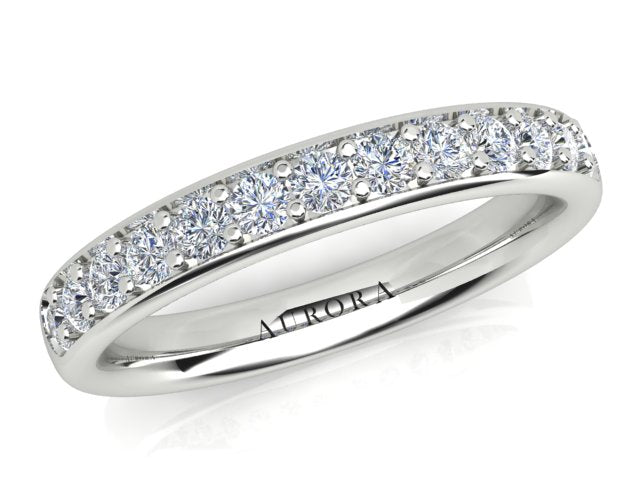 AURORA 18CT GOLD G SI2 TDW- 0.40CT DIAMOND RING