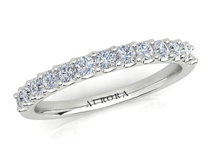 AURORA 18CT GOLD G SI2 TDW-0.40CT DIAMOND RING