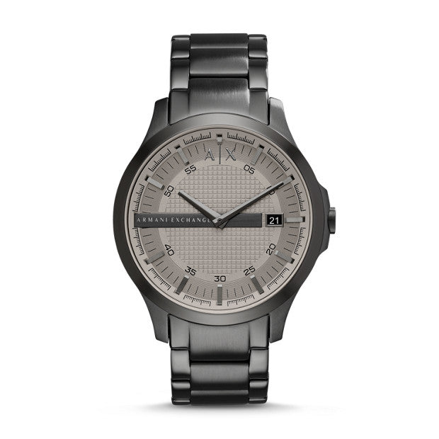 AX MENS HAMPTON 3 HAND WATCH