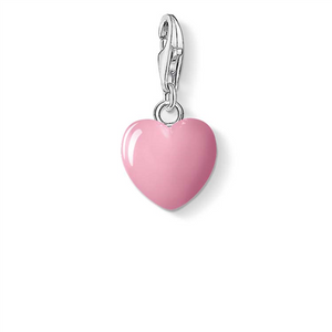 C/CLUB PINK ENAMEL HEART