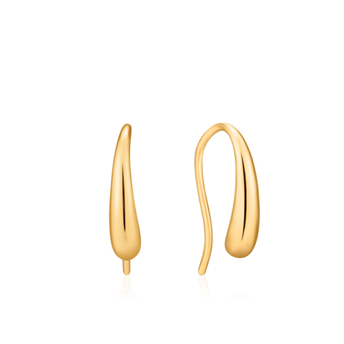 LUXE MINIMALISM LUXE HOOK EARRINGS