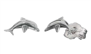 #9 DOLPHIN STUD EARRINGS