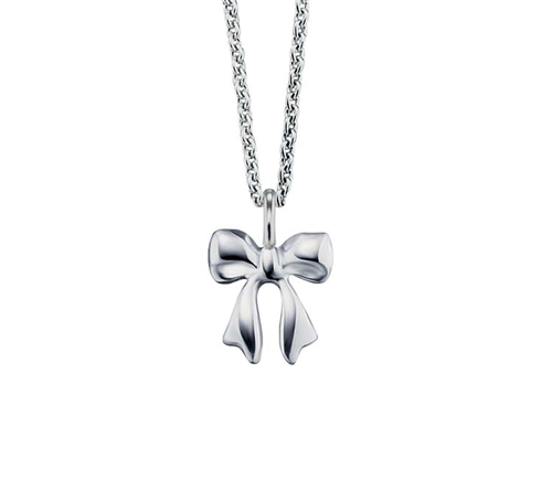 #9 BOW NECKLACE 38+2CM