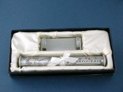 BIRTH CERTIFICATE HOLDER/STAND