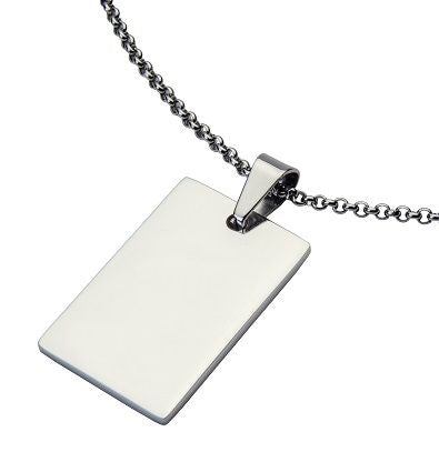 DOG TAG SIVERPLATE