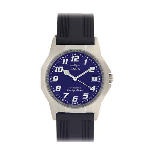 ADINA C/MASTER BLUE F/F STRAP WATCH