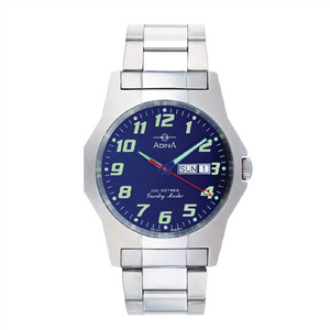 ADINA C/MSTER 100M BLUE F/FIG BLET WATCH