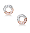BLUSH GEMINI EARRINGS