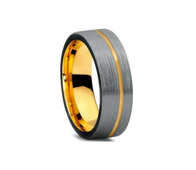 MENS TUNGSTEN RING SIZE 9