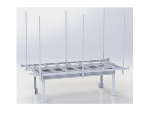 Active Aqua - Rolling Bench Trellis Support Kit