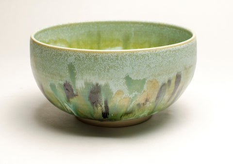 Fruit Bowl - Sage Splash glaze