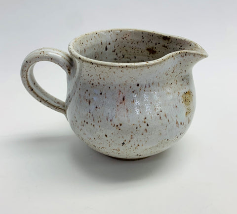 Large White Creamer