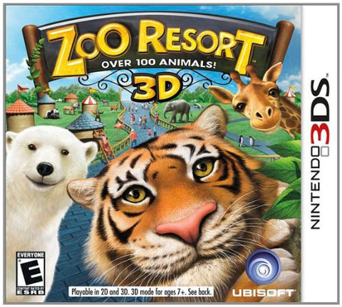 Zoo Resort 3DS Used Cartridge Only