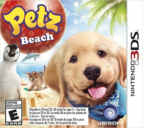 Petz Beach 3DS Used