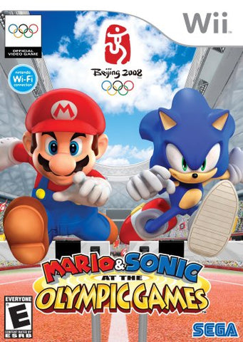Mario & Sonic At The Olympic Games Wii Used