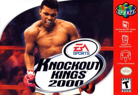 Knockout Kings 2000 N64 Used Cartridge Only