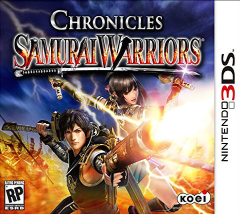 Samurai Warriors Chronicles 3DS Used Cartridge Only