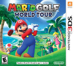 Mario Golf World Tour 3DS New